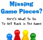 Missing Game Pieces? Here's What to Do