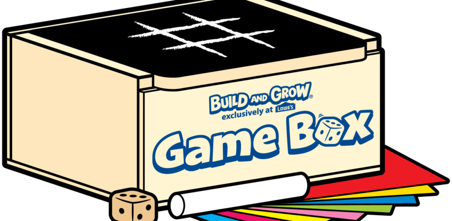 Free Lowe's Build and Grow Clinic: Game Box