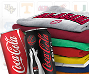 Free NCAA T-shirt from My Coke Rewards