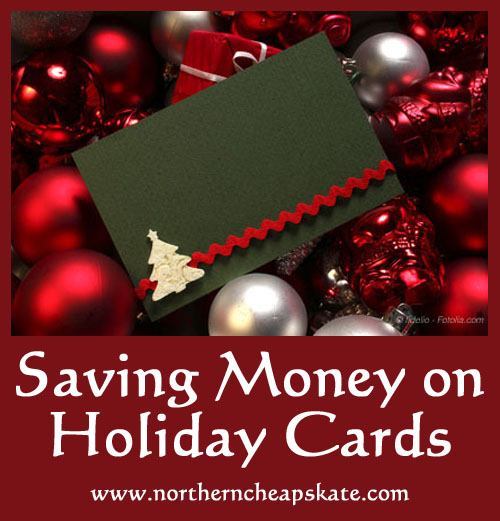 Saving Money on Holiday Cards