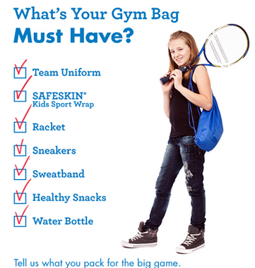 SAFESKIN Gym Bag Suggestions