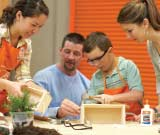 Home Depot Planter Box Kids Workshop