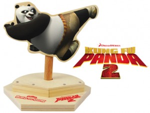 Kung Fu Panda Spinning Attack toy