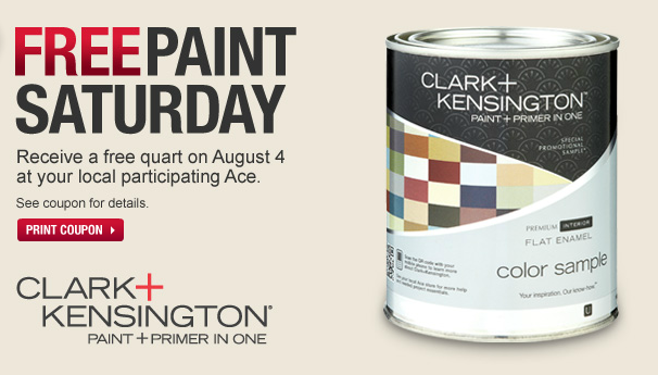 free paint at Ace