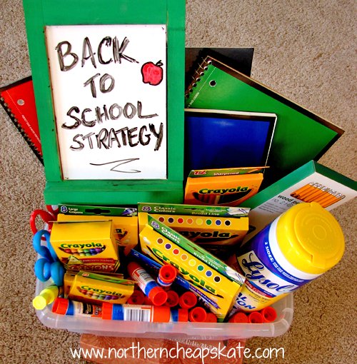 Back to School Supply Strategy