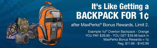Backpack Sale at OfficeMax