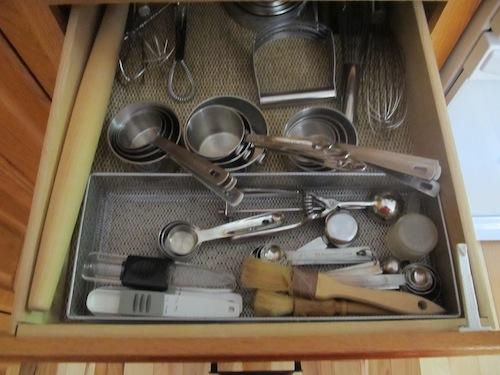 Clean out the kitchen drawers