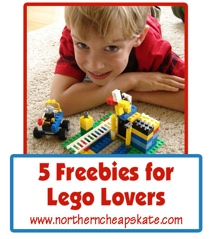 5 Freebies for Lego Lovers