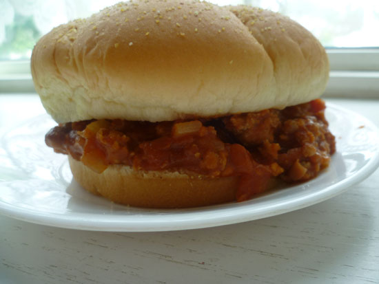 Sloppy Joes with Beans