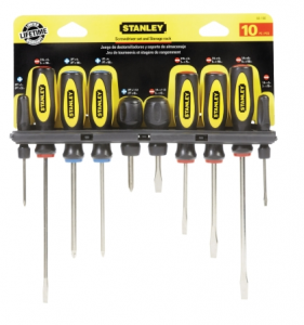 Stanley 10-Piece Screwdriver Set