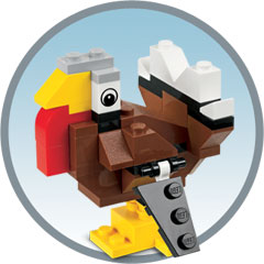 Free LEGO Build: LEGO Turkey