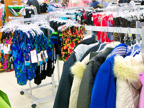 Winter clothing clearance