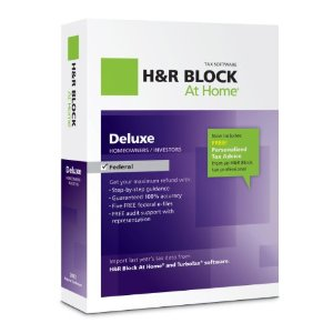 H&R Block At Home tax prep software