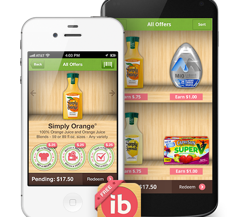 Earn Cash Back with Your Smartphone and Ibotta