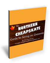Northern Cheapskate Guide to Saving Money on Groceries