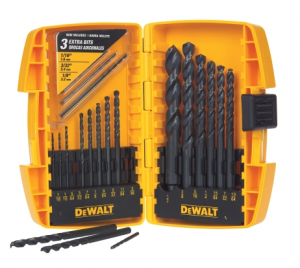 DeWalt drill bit set