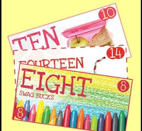 Earn Bonus Swag Bucks with Back-to-School Collector's Bills