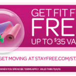 Stayfree Stayfit Promotion