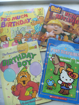 Make a Child's Birthday Special: Birthday Books