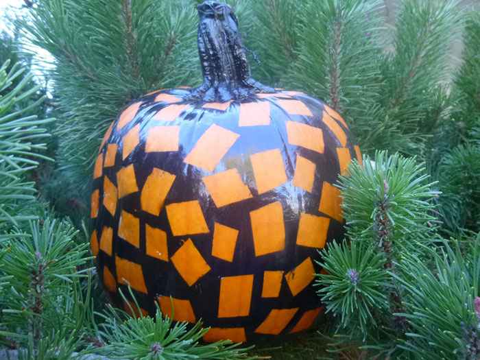 Creative Halloween Crafts: The Square Pumpkin