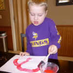 Surprise painting - Tell Kids about a Trip to Disney