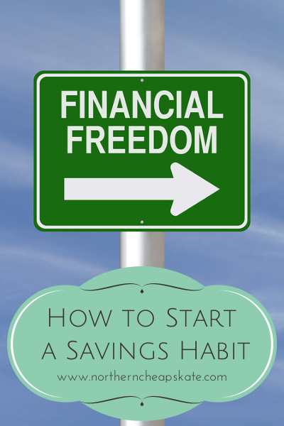 How to Start a Savings Habit - Northern Cheapskate
