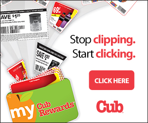 CIipping Coupons Just Got Easier at Cub Foods