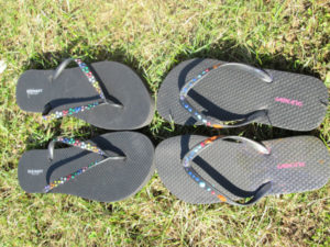 Fun Customized Flip Flops: Mother/Daughter Flip Flops