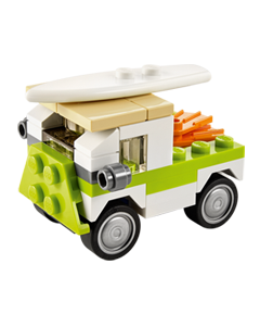 Free LEGO Mini Build: LEGO Beach Van