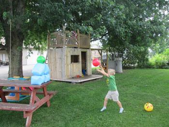 DIY Real Life Angry Birds Game