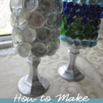 How to Make Upcycled Bathroom Storage Containers