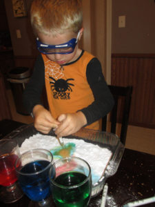 Fun Science Experiments for Preschool Kids: Bubbly Colors