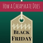How a Cheapskate Does Black Friday