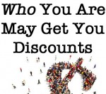 Who You Are May Get You Discounts