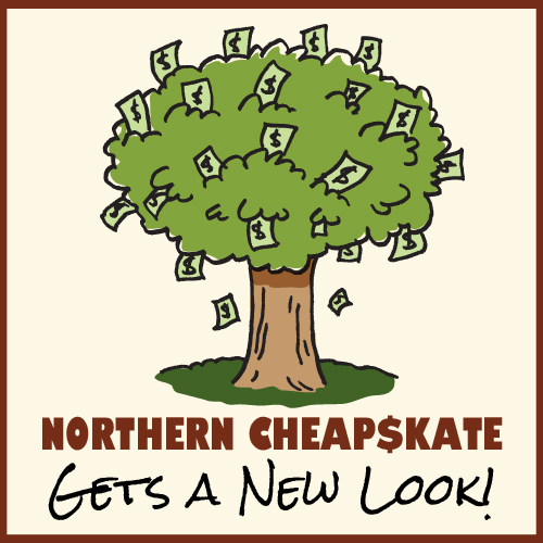 A New Look, Happy Holidays (And My Gift to You) - Northern Cheapskate