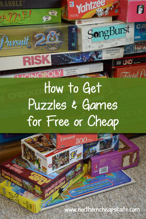 How to Get Puzzles and Games for Free or Cheap - Northern Cheapskate