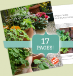 Free gardening e-guide from Craftsy