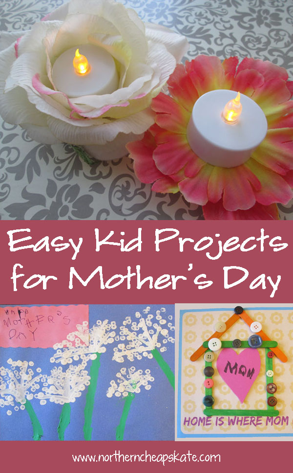 Easy Kid Projects for Mother's Day