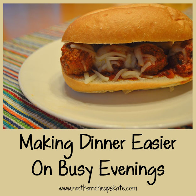 Making Dinner Easier on Busy Evenings