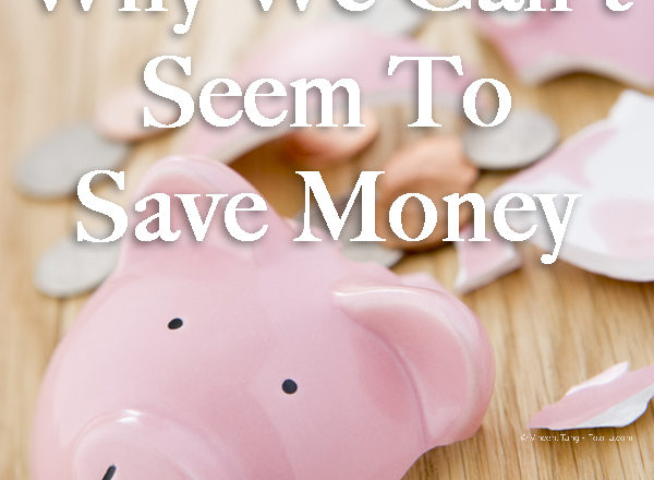 Why We Can't Seem To Save Money