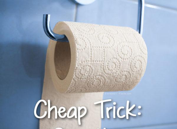 Cheap Trick: Buy the Cheap Toilet Paper