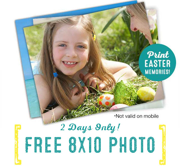 Get a Free 8x10 Photo Print From Walgreens