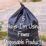 5 Ways I'm Using Fewer Disposable Products