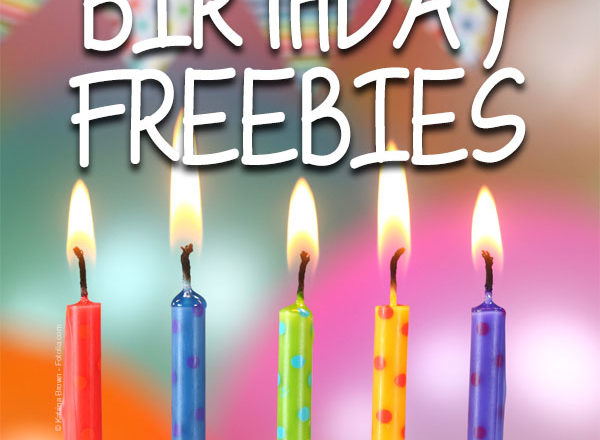 Celebrate Another Year With Birthday Freebies