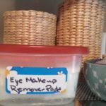 DIY Natural Eye Makeup Remover