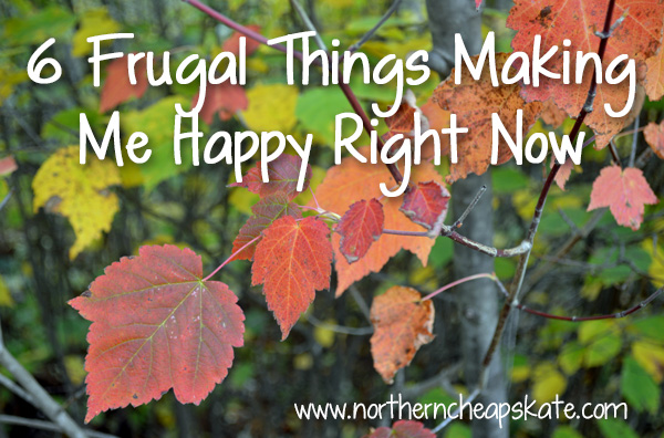 6 Frugal Things Making Me Happy Right Now