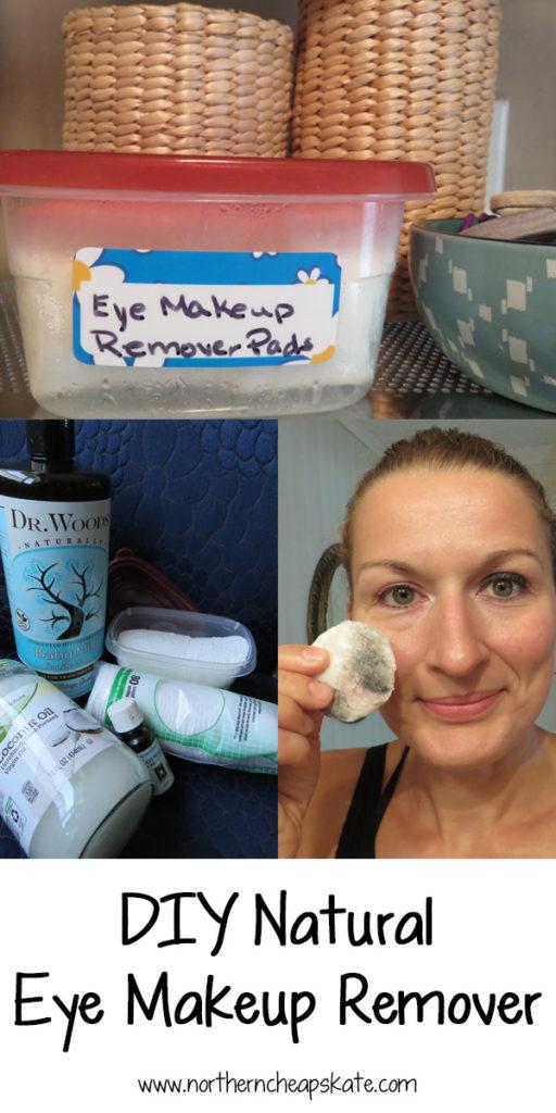 Eye makeup remover natural