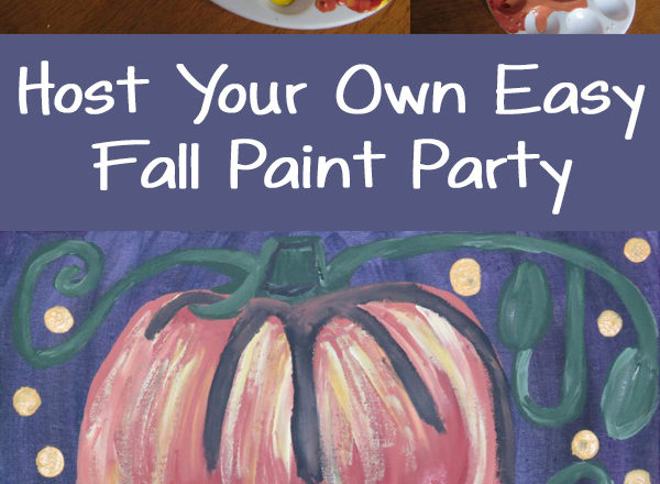 Host Your Own Easy Fall Paint Party