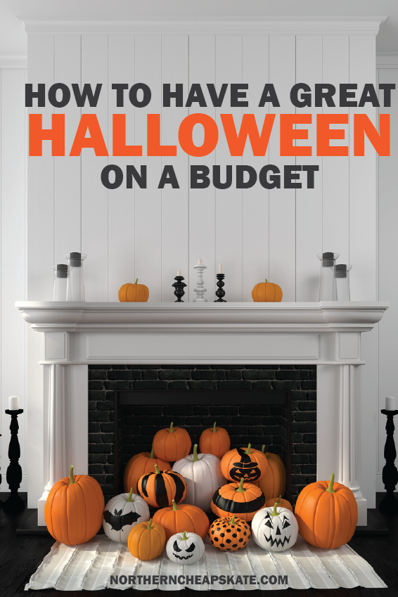 How to Have a Great Halloween on a Budget | Cheap Halloween | Frugal Halloween | Affordable Halloween