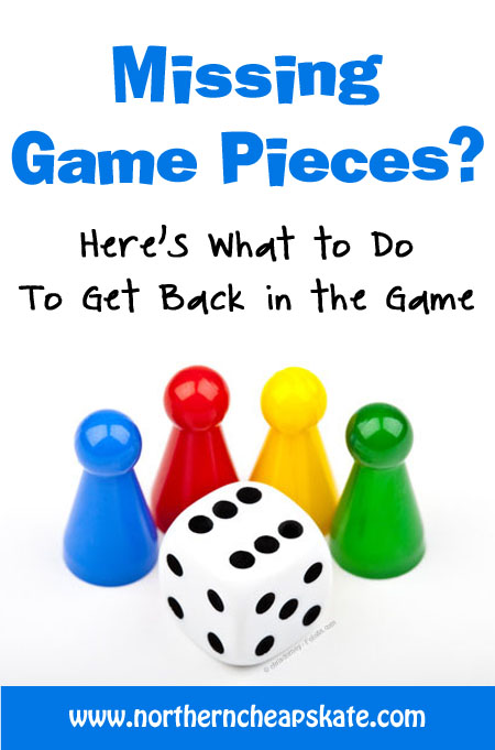Missing Game Pieces? Here's What To Do To Get Back In the Game